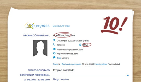 why you should not use the europass cv - Europass Curriculum Vitae